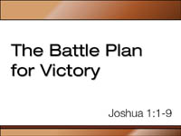 Battle Plan for Victory